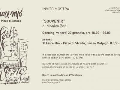 """Souvenir"" the exhibition by Monica Zani"