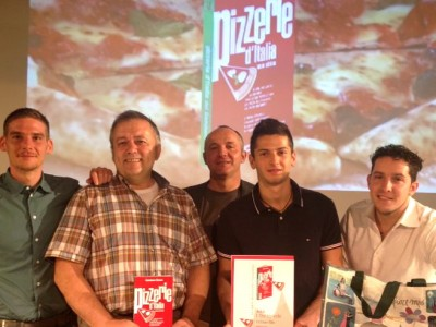 """3 Spicchi Gourmet"""" award and the recognition as one of the best Italian Pizzerias"""