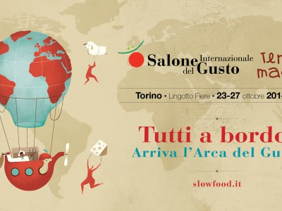 "'O FIORE MIO AT THE ""SALONE DEL GUSTO"" OF TURIN"